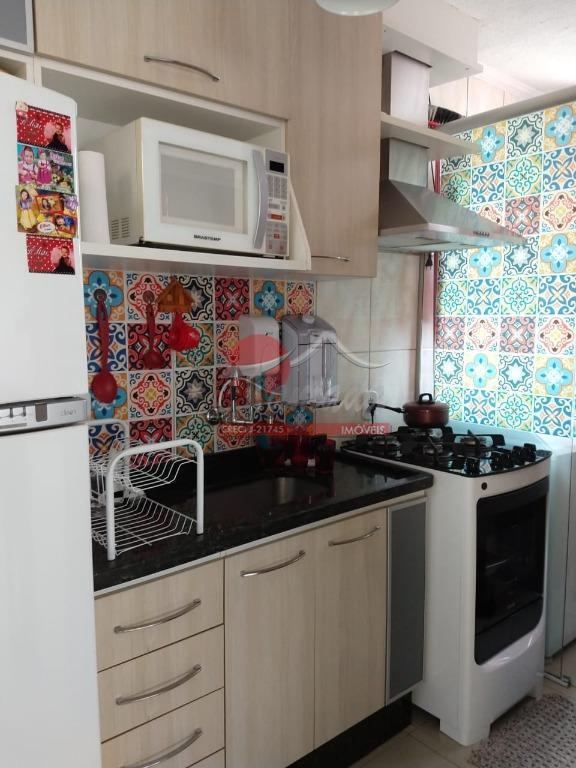 Apartamento com 2 dormitórios à venda, 45 m² por R$ 186.000 - Vila Jacuí - São Paulo/SP