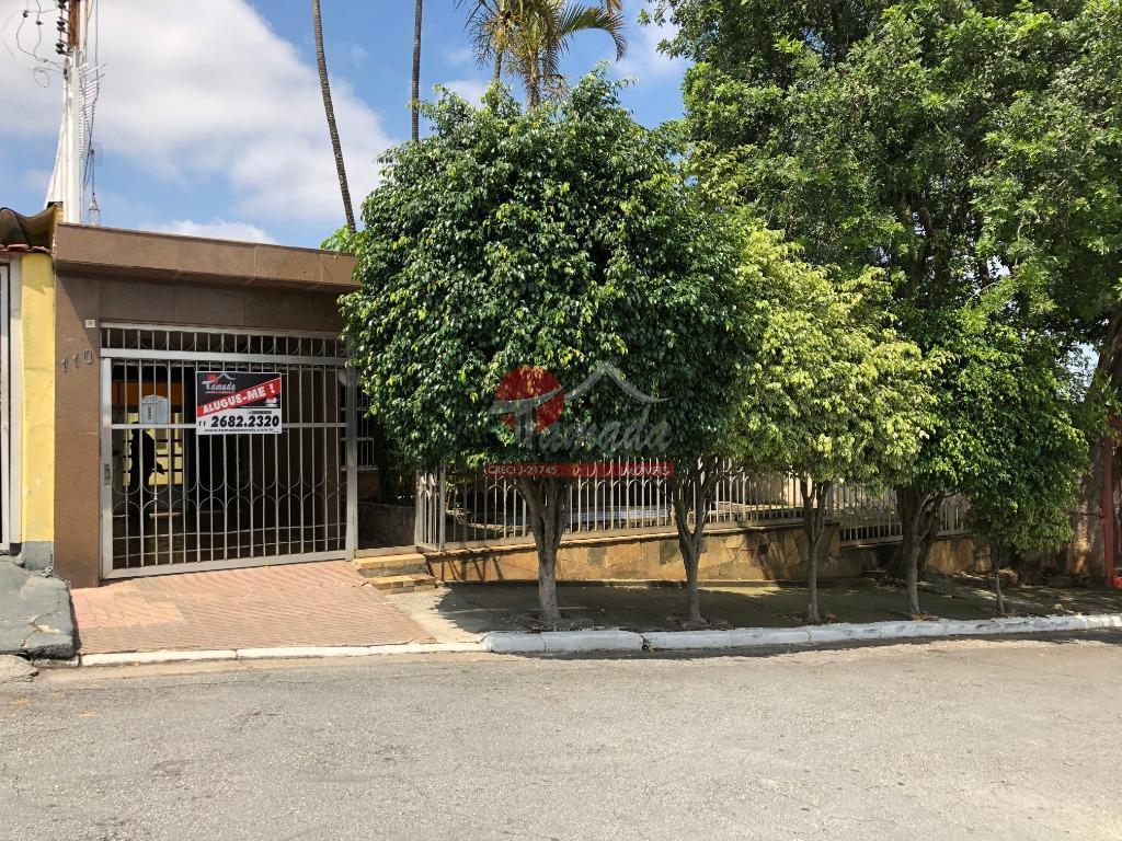 Casa com 3 dormitórios à venda e locação, 260 m² a.c. e 526 m² a.t. - Vila Paranaguá - São Paulo/SP