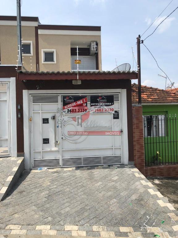 Sobrado com 2 dormitórios à venda, 80 m² por R$ 390.000 - Vila Marieta - São Paulo/SP