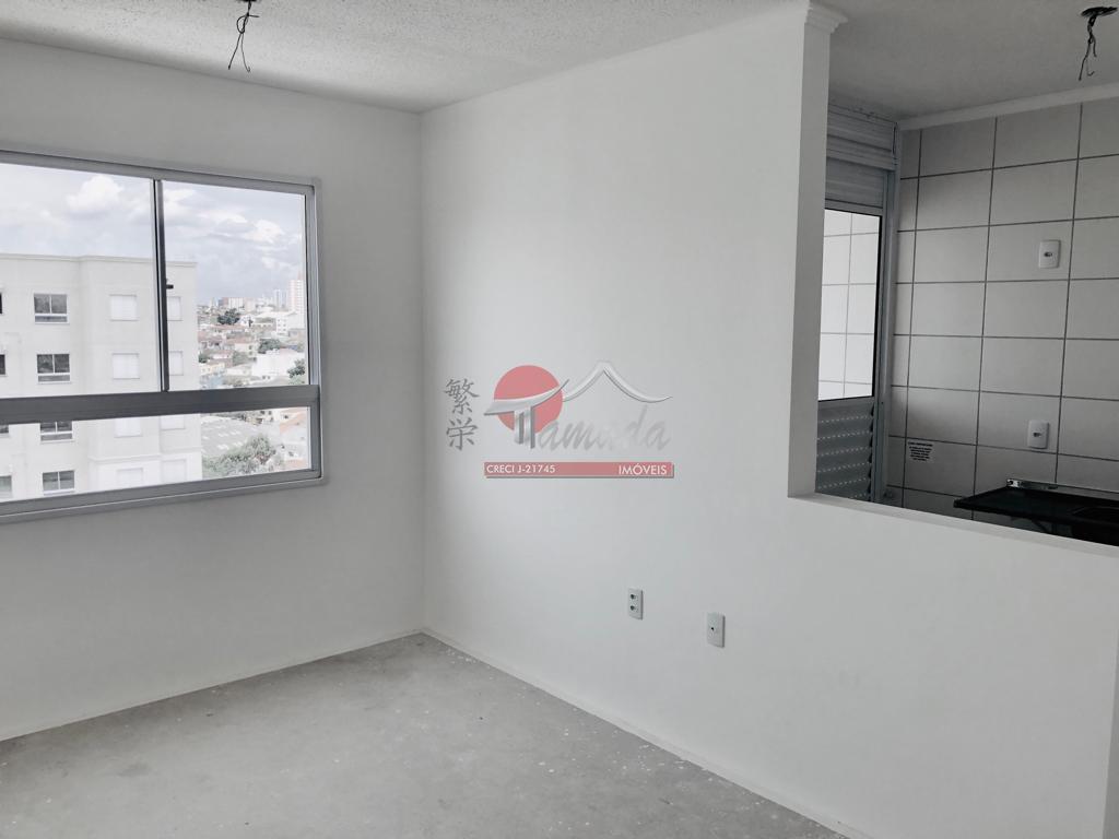 Apartamento com 2 dormitórios à venda e aluguel, 46 m² por R$ 250.000 - Penha de França - São Paulo/SP