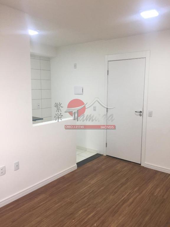 Apartamento com 2 dormitórios para alugar, 46 m² por R$ 1.100/mês - Penha de França - São Paulo/SP