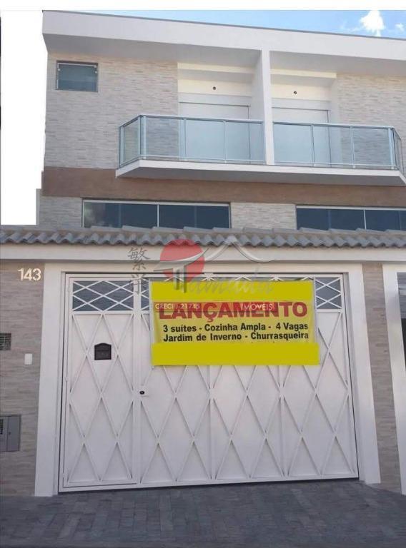 Sobrado com 3 dormitórios à venda, 150 m² por R$ 750.000 - Vila Beatriz - São Paulo/SP