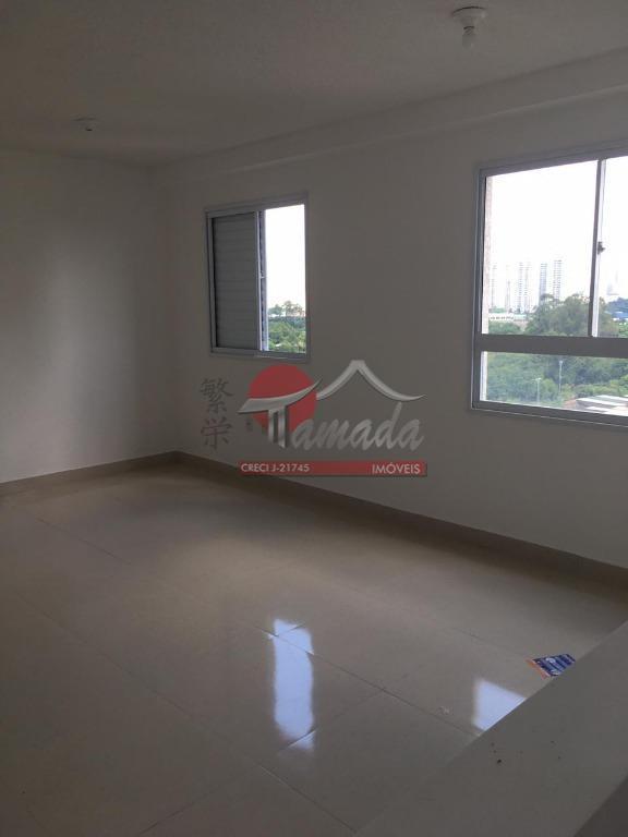 Apartamento com 1 dormitório para alugar, 47 m² por R$ 1.050/mês - Penha de França - São Paulo/SP