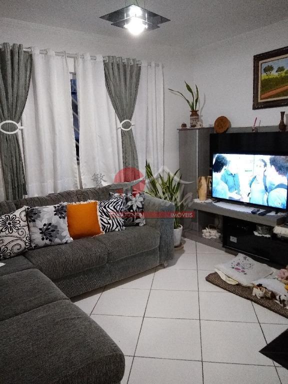 Sobrado com 2 dormitórios à venda, 76 m² por R$ 380.000 - Vila Santana - São Paulo/SP