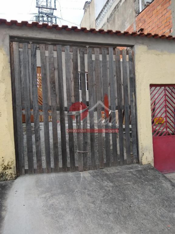 Casa com 1 dormitório à venda, 110 m² por R$ 325.000 - Jardim Ponte Rasa - São Paulo/SP