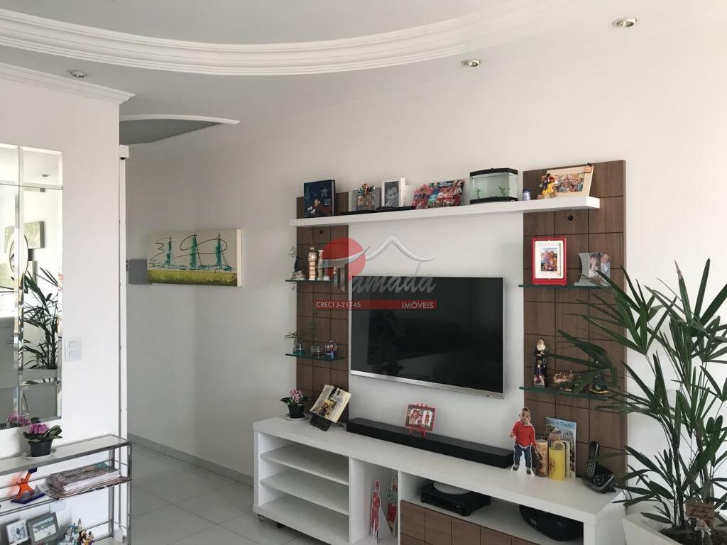Apartamento com 3 dormitórios à venda, 61 m² por R$ 350.000 - Vila Antonieta - São Paulo/SP
