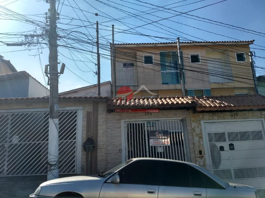 Sobrado com 3 dormitórios à venda, 110 m² por R$ 450.000 - Vila Frugoli - São Paulo/SP