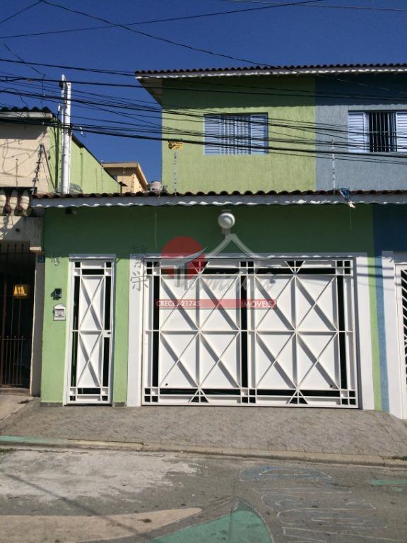 Sobrado com 2 dormitórios à venda, 150 m² por R$ 490.000 - Vila Buenos Aires - São Paulo/SP