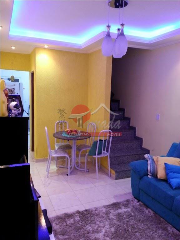 Sobrado com 2 dormitórios à venda, 72 m² por R$ 340.000 - Vila Marieta - São Paulo/SP