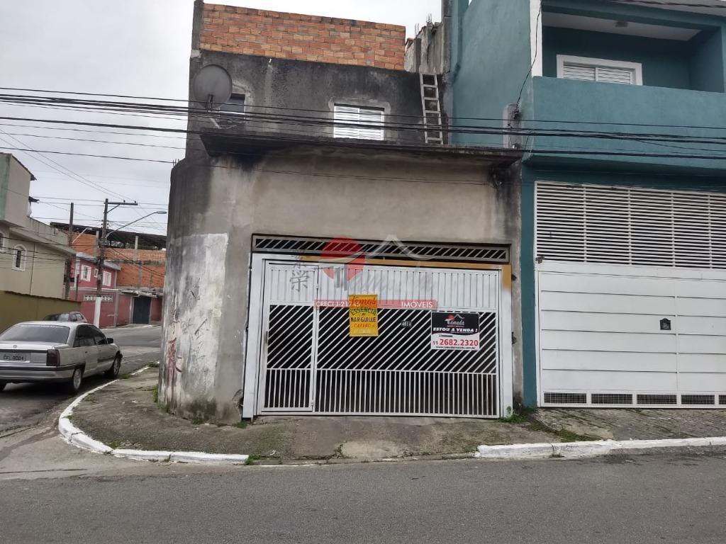 Sobrado com 3 dormitórios à venda, 172 m² por R$ 650.000 - Jardim Popular - São Paulo/SP