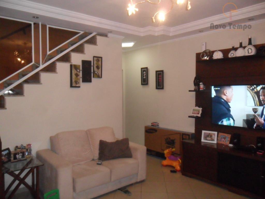 Sobrado residencial à venda, Vila Francisco Mineiro, Guarulhos - SO0145.