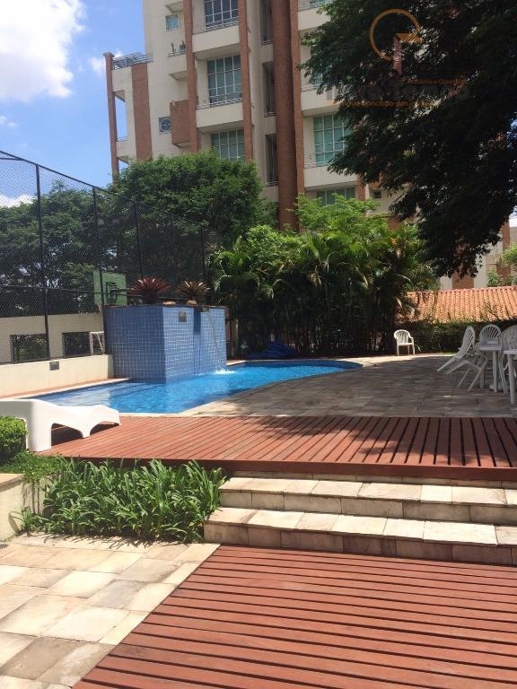 Apartamento  residencial para locação, Jardim Anália Franco, São Paulo.