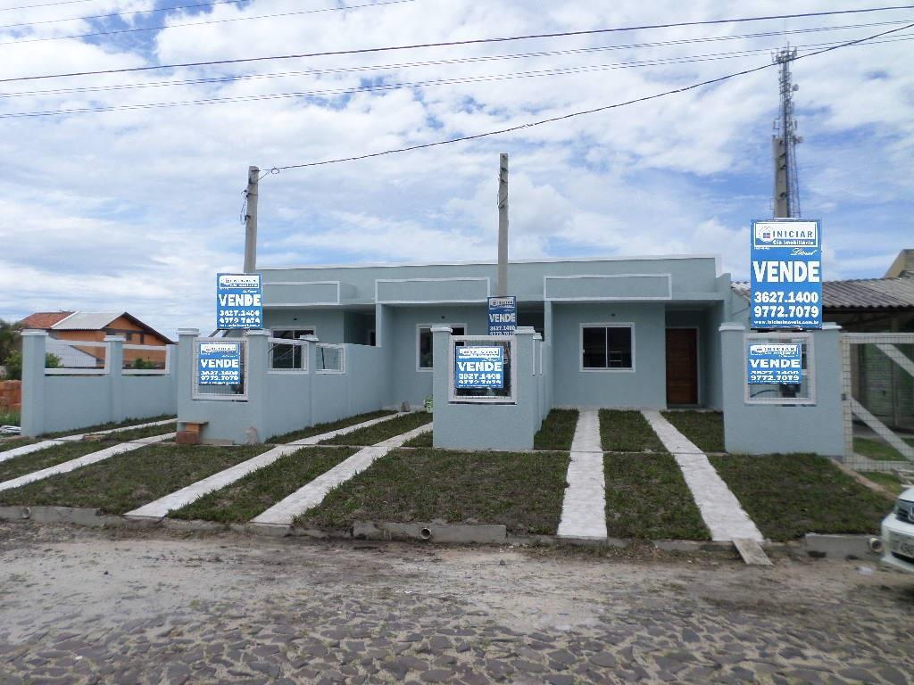 Casa geminada 500 m do mar, Centro, Imbé.