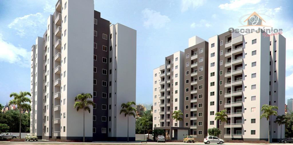 Apartamentos com 2 e 3 Quartos Sendo 1 Suíte + Wc social, Parque Dois Irmãos, Fortaleza.