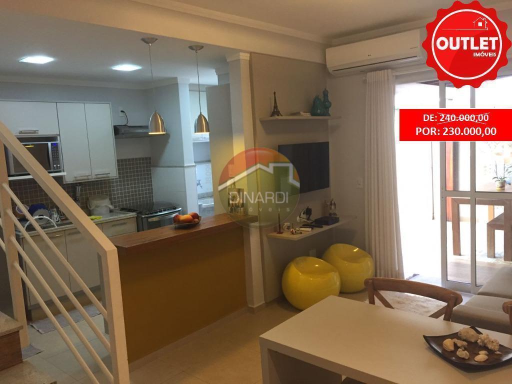 Apartamento Duplex residencial à venda, Residencial Flórida, Ribeirão Preto - AD0003.