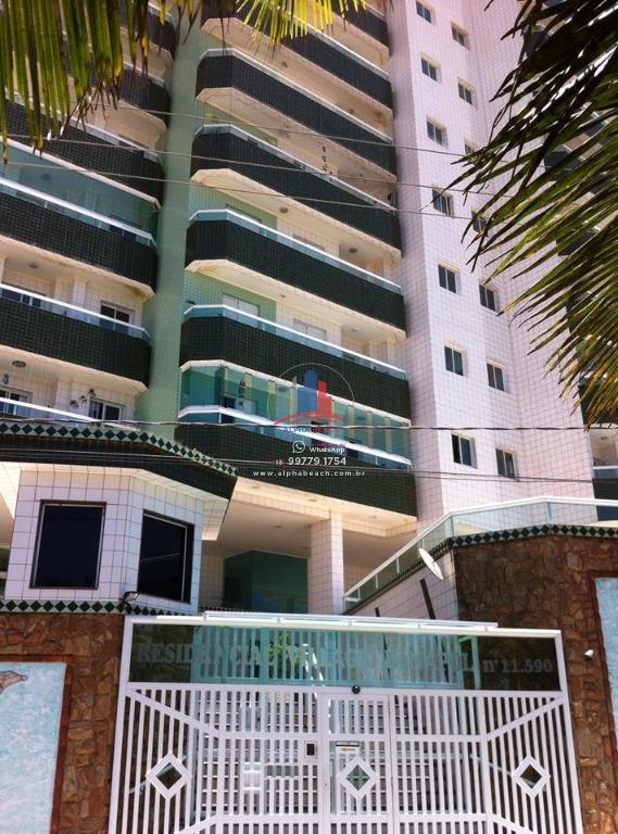 Apartamento Frente Mar 02 dormitórios mobiliado.
