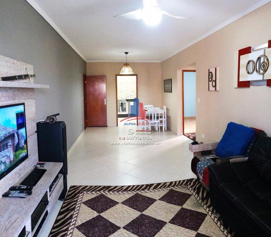 Lindo Apartamento com móveis planejados 94m² útil - 2 dormitórios 1 suíte e Sacada de Frente.