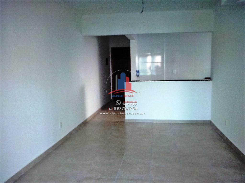 Apartamento novo, 2 quartos, suíte, Guilhermina, Praia Grande