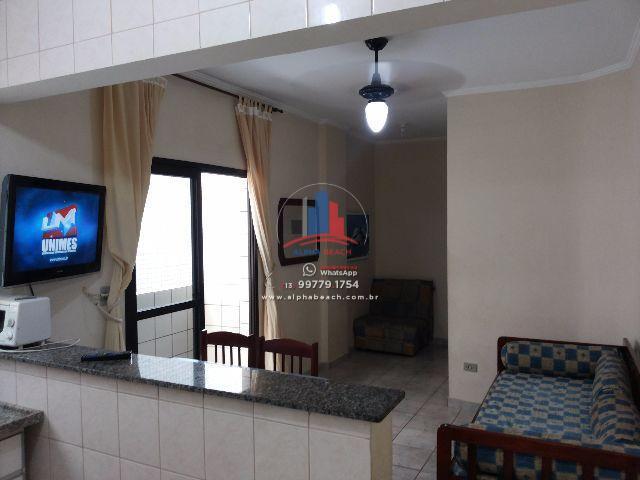 Apartamento residencial para venda e locação, Vila Guilhermina, Praia Grande.