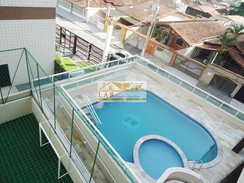 Apartamento  com lazer completo à venda, Campo da Aviação, Praia Grande.