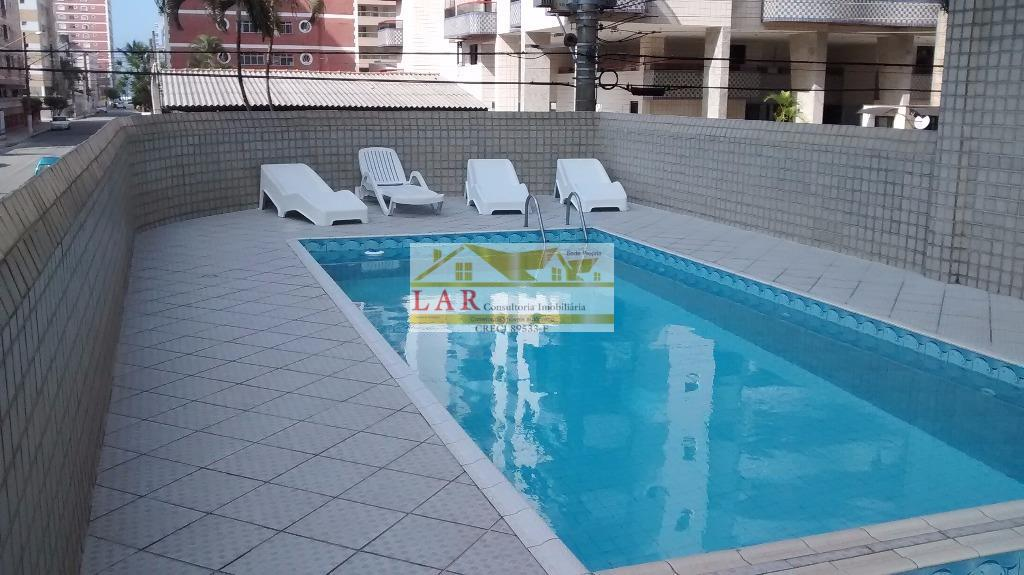Apartamento  com uma metragem sem igual TODO MOBILIADO com ar condicionado à venda, Vila Tupi, Praia Grande.