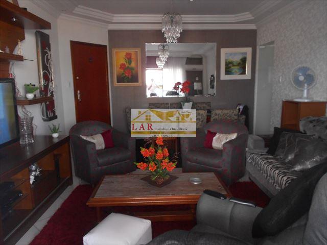 Apartamento 2 vagas e 3 suítes à venda, Vila Guilhermina, Praia Grande.