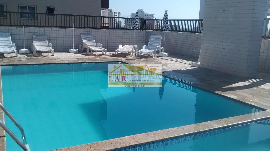 Apartamento pertinho da feirinha  à venda, Vila Guilhermina, Praia Grande.