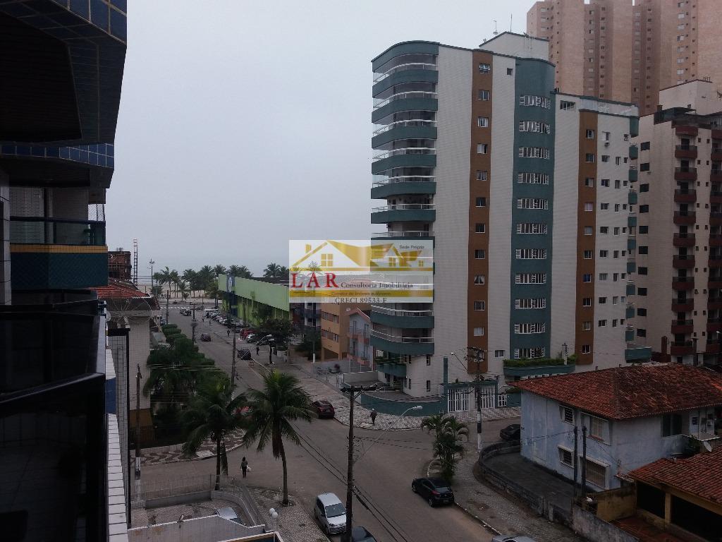 Apartamento vista ao mar, Vila Guilhermina, Praia Grande.