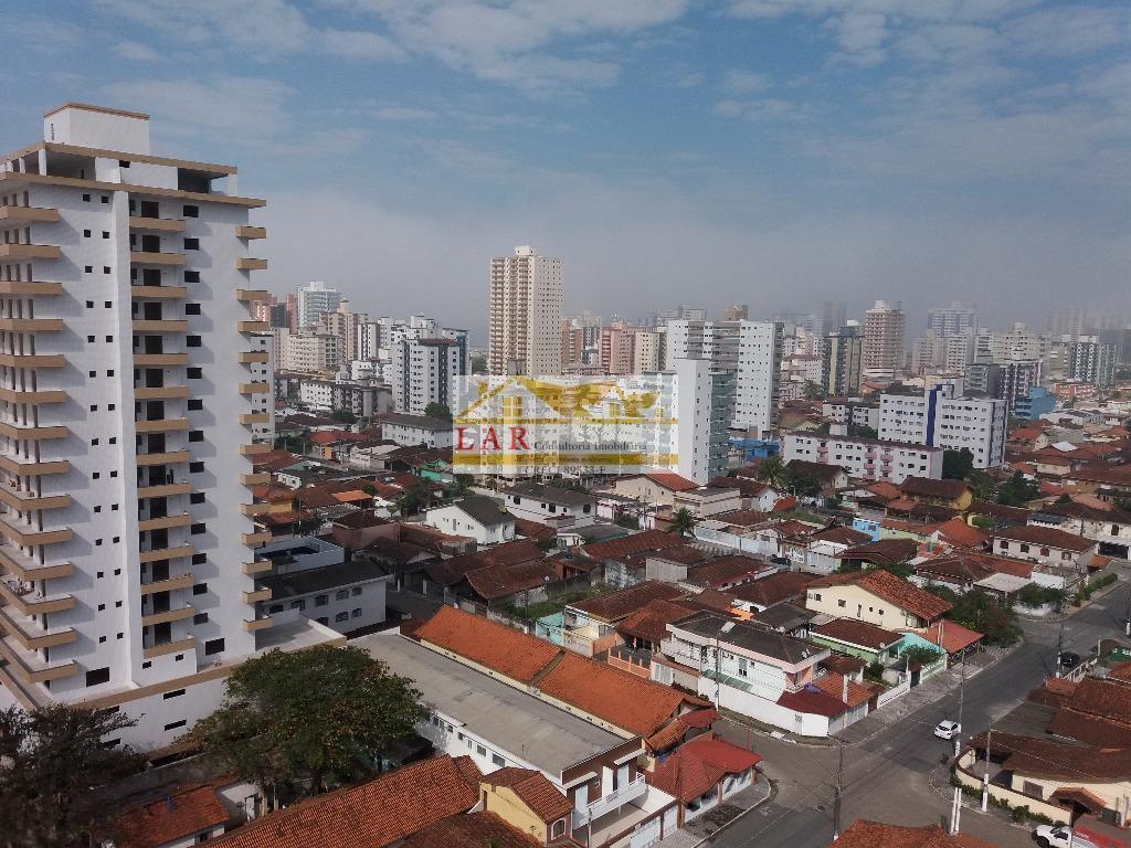 Locação - Apartamento NOVO,  residencial para locação, Vila Guilhermina, Praia Grande.