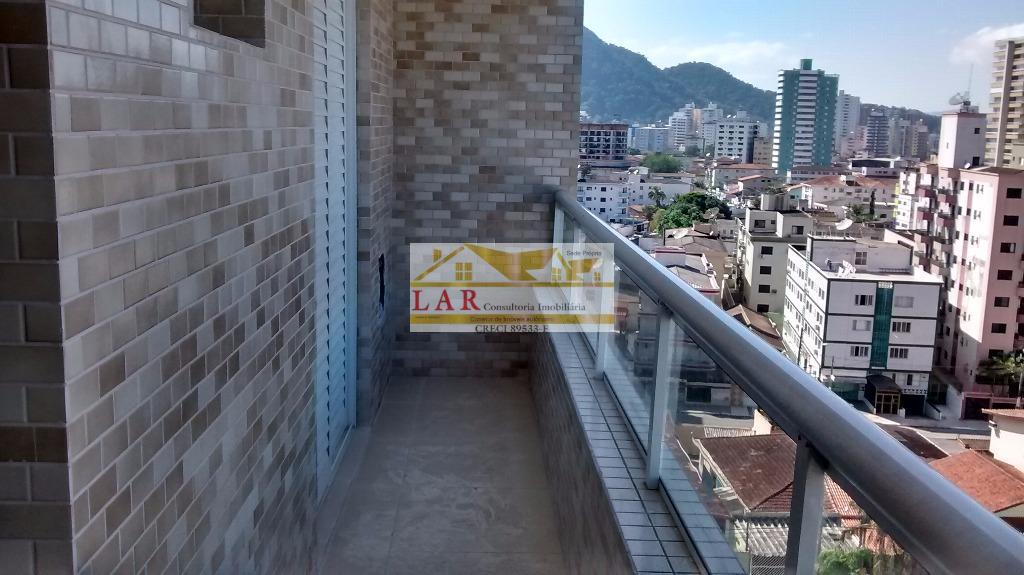 Apartamento  NOVO residencial à venda, Vila Guilhermina, Praia Grande.
