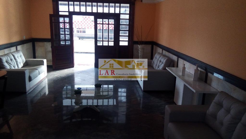 Apartamento VISTA MAR  residencial para venda e locação, Vila Guilhermina, Praia Grande.