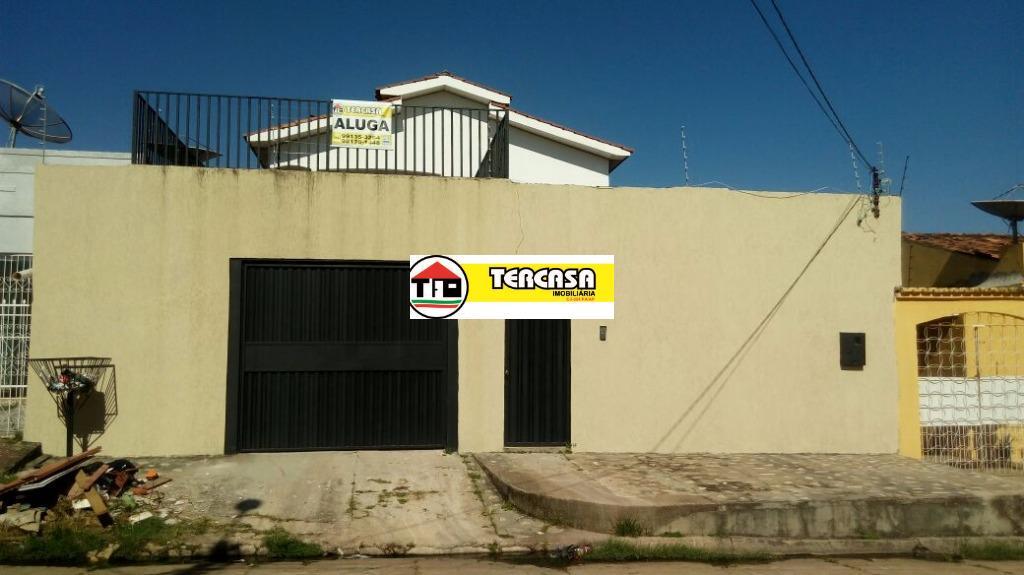 Casa residencial para locação, Novo Horizonte, Marabá.
