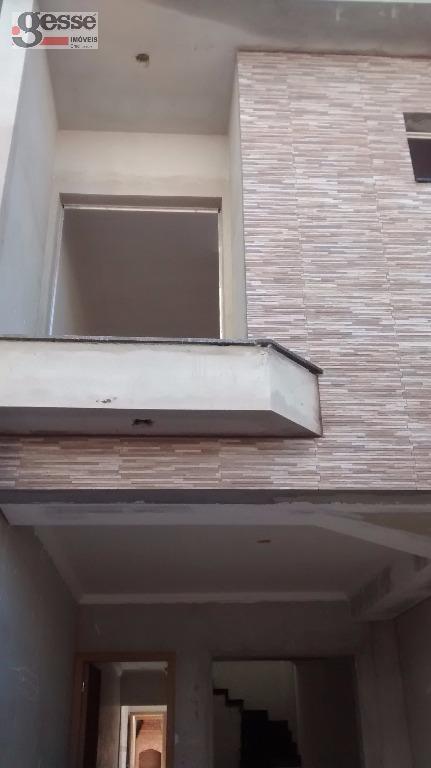 Sobrado residencial à venda, Vila Santana, São Paulo.