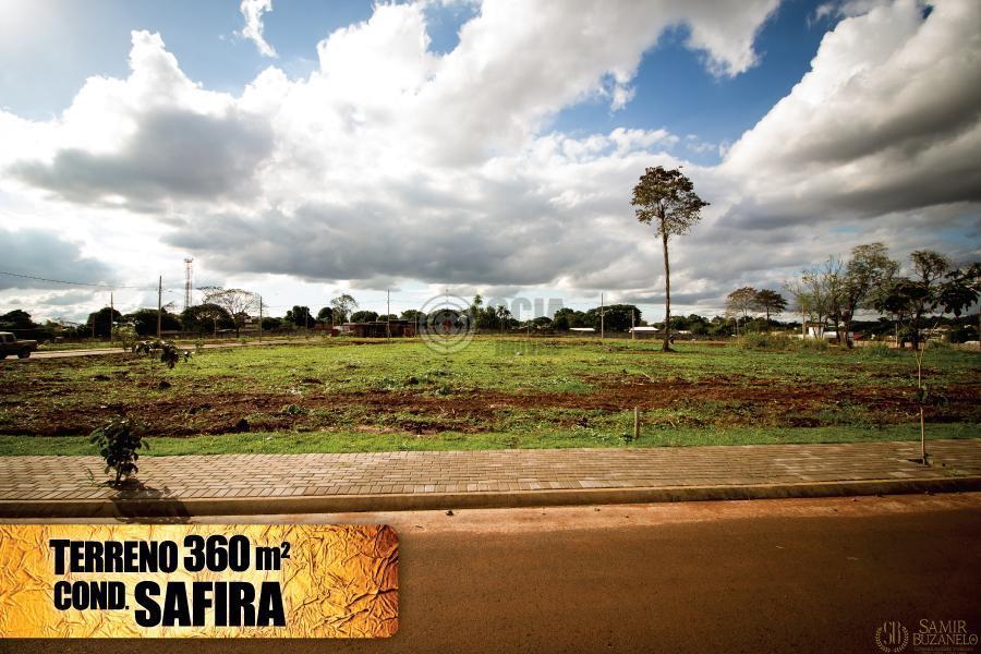 Terreno 360m2 Cond. SAFIRA