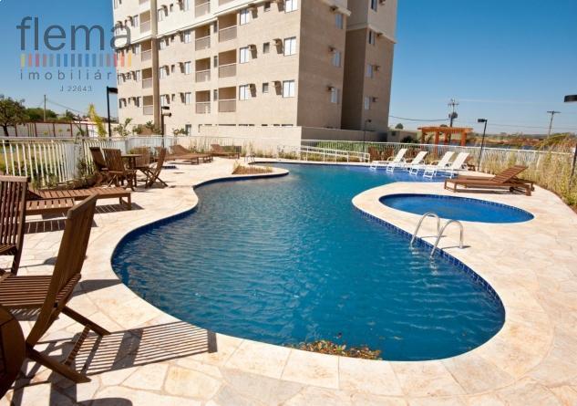 Apartamento residencial à venda, Jardim Interlagos, Ribeirão Preto.