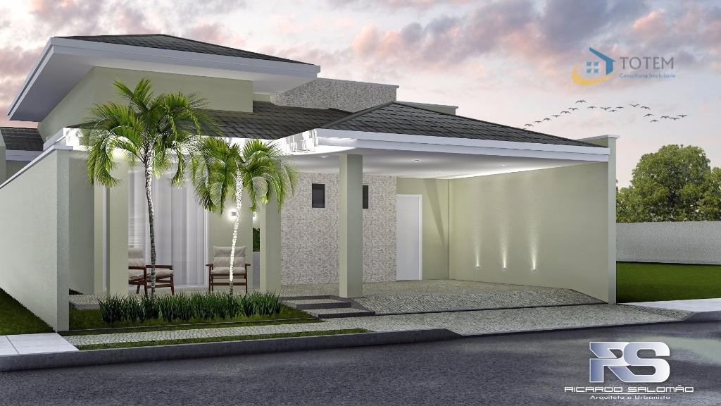 Excelente Residência em Construção no Condomínio Reserva Esmeralda