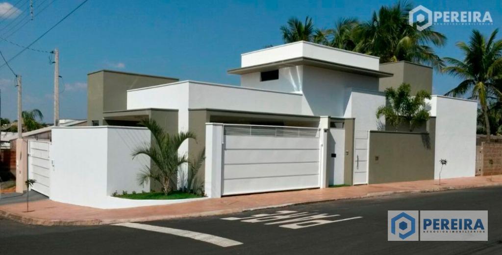 Casa  residencial à venda, Jardim Portal dos Lagos, Votuporanga.