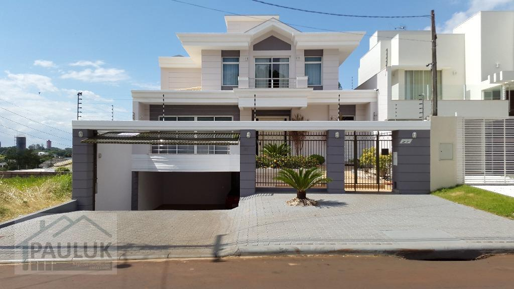 Sobrado residencial à venda, Jardim Panorama, Foz do Iguaçu.