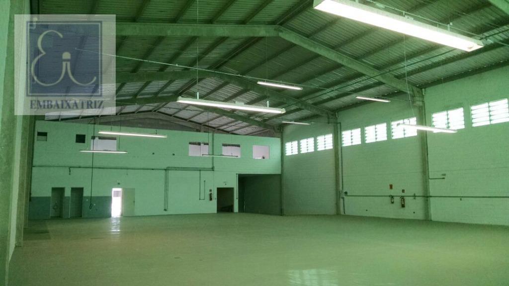 Galpão comercial para locação, Eldorado, São José dos Campos.