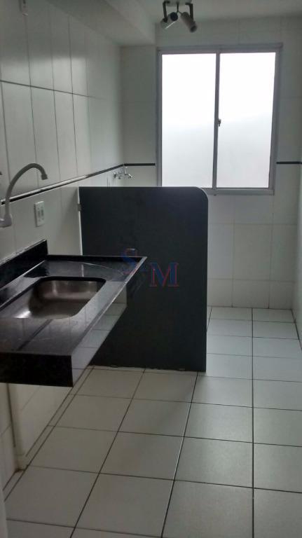 Apartamento residencial para locação, Parque São Vicente, Mauá.