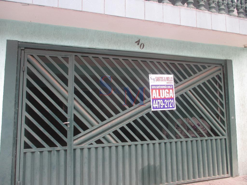 Sobrado residencial para locação, Conjunto Residencial Sitio Oratório, São Paulo.