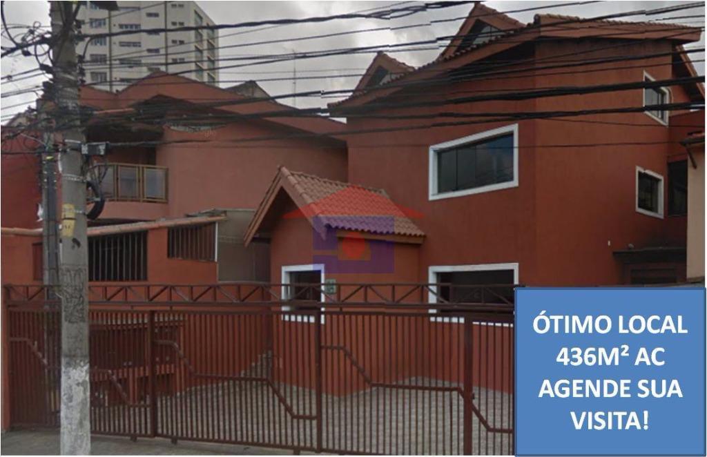 Excelente Edifício Comercial na Vila Monumento com 436m²