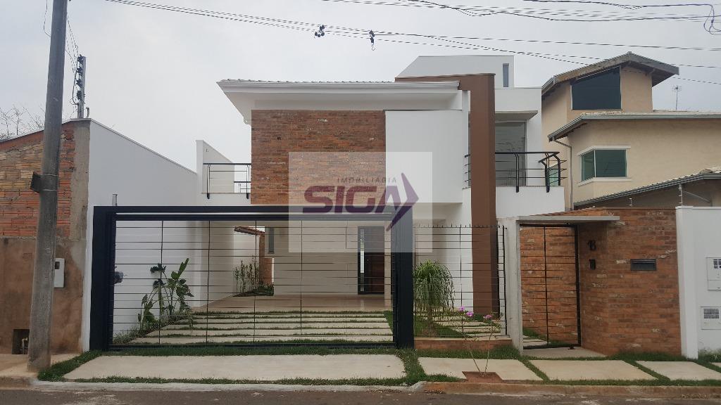 Sobrado residencial à venda, Porto Seguro, Avaré.