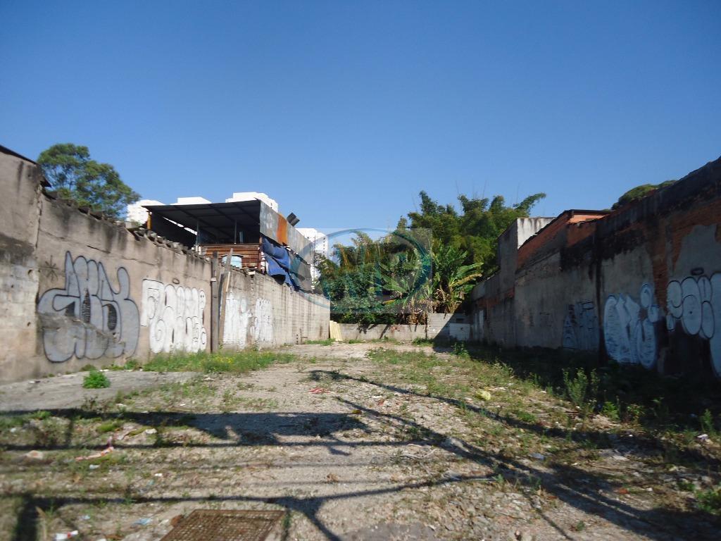 Terreno comercial para locação, Piraporinha, Diadema.