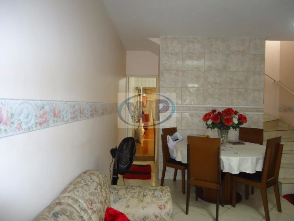 Sobrado residencial à venda, Vila Jordanópolis, São Bernardo do Campo.