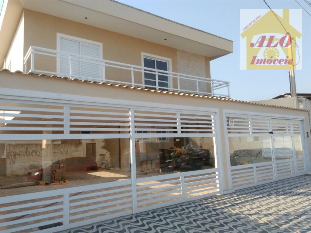 Casa  residencial à venda, Vila Antártica, Praia Grande.