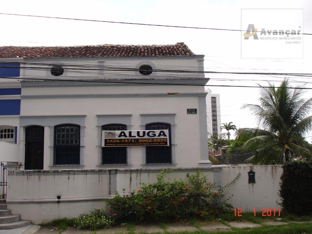 Casa comercial para locação, Casa Forte, Recife.