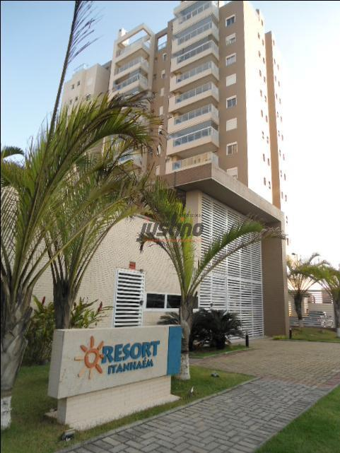 Apartamento residencial à venda, Centro, Itanhaém.