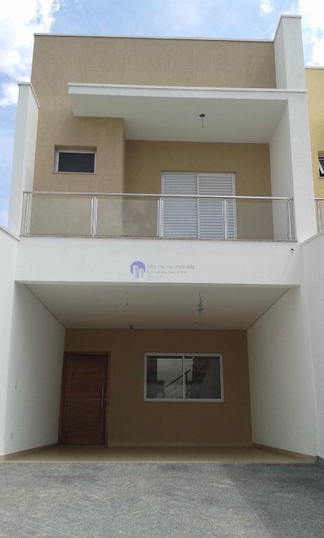 Sobrado residencial à venda, Vila Lavínia, Mogi das Cruzes.