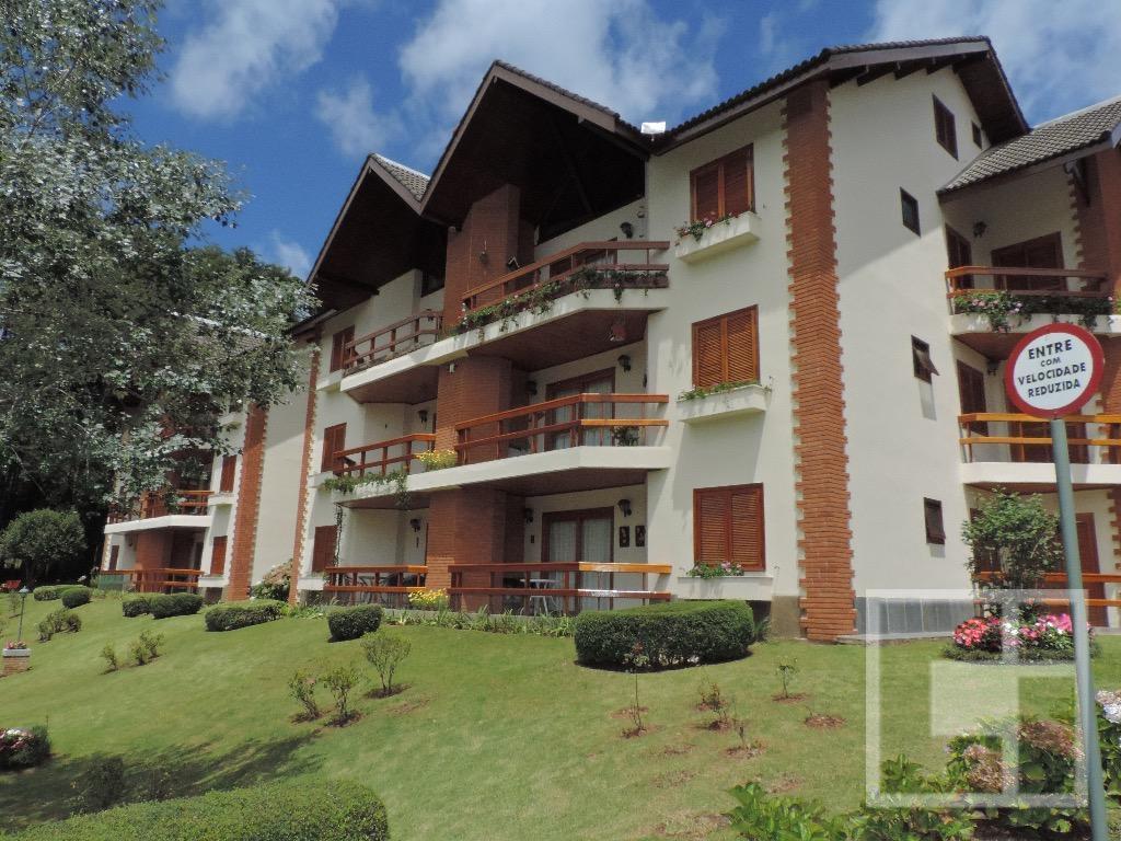 Apartamento residencial à venda, Alto da Vila Inglesa, Campos do Jordão.